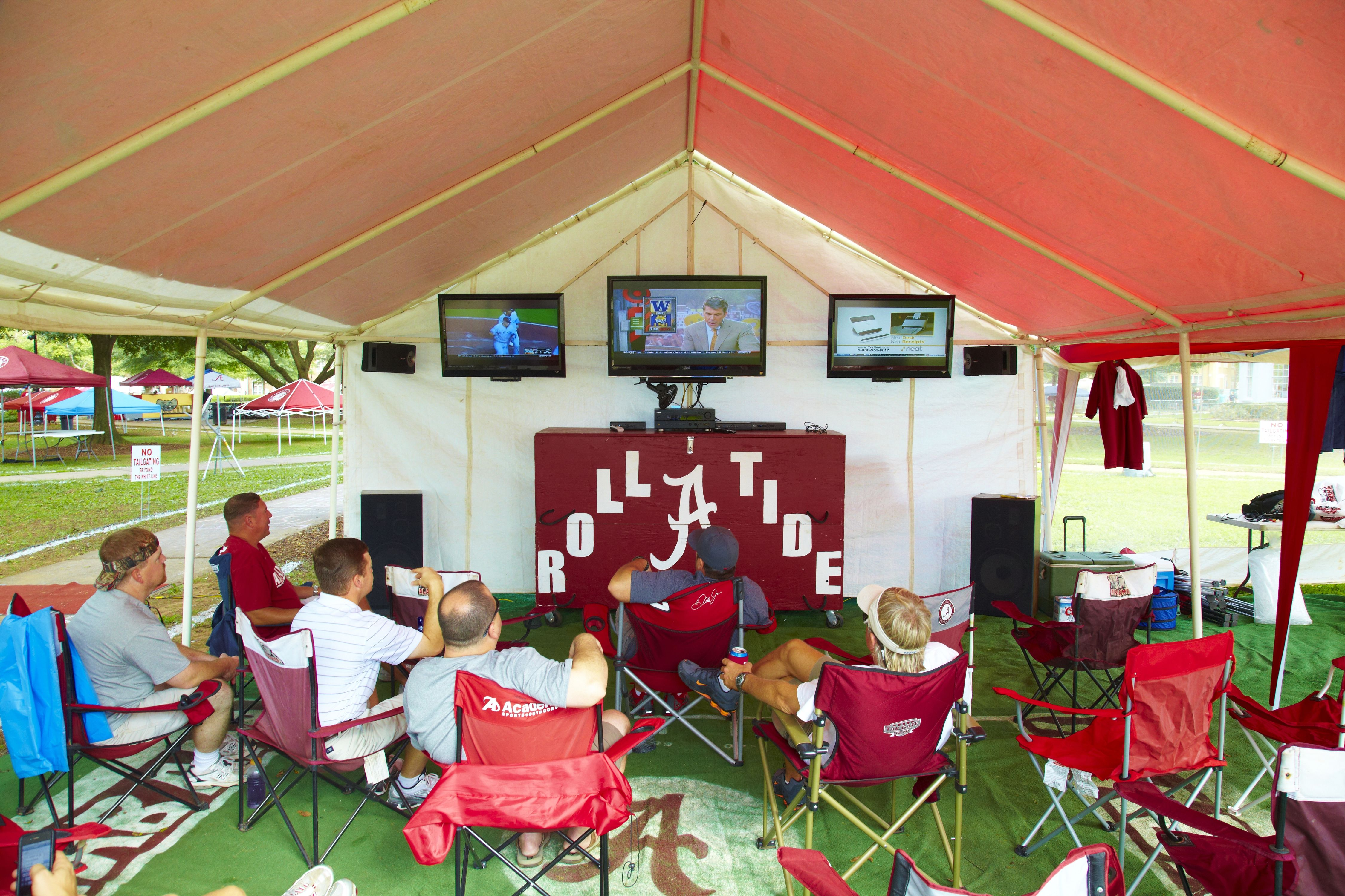 The South's Best Tailgate: Alabama Snags the Number 3 Spot