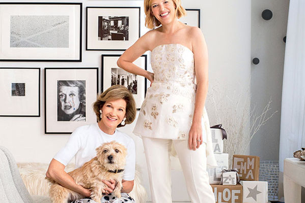 Holiday Glam, Texas Style: Deedie and Lela Rose