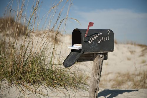 North Carolina's Secret Beach Mailbox
