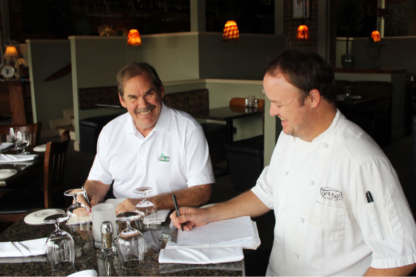Christmas Eve Dinner with Chef Mike Davis and Bobby Williams