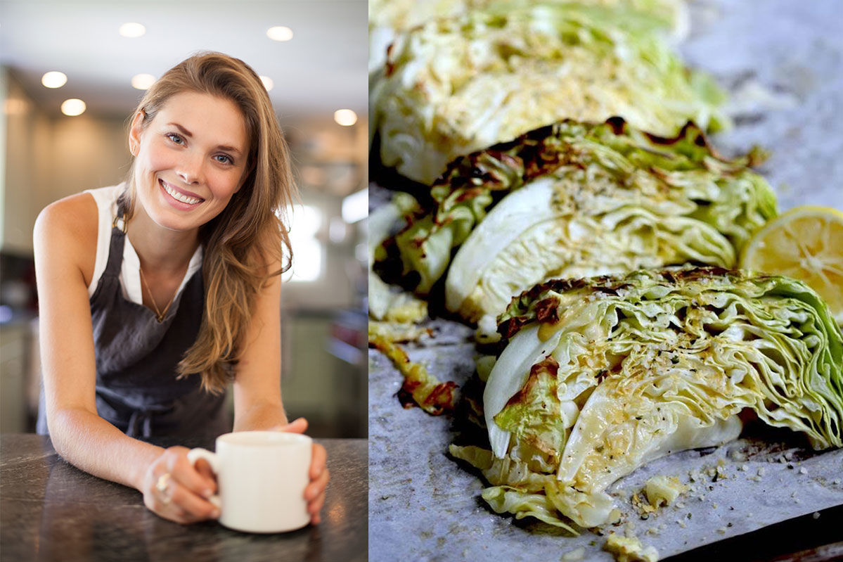 Laura Lea's Caesar Roasted Cabbage Recipe