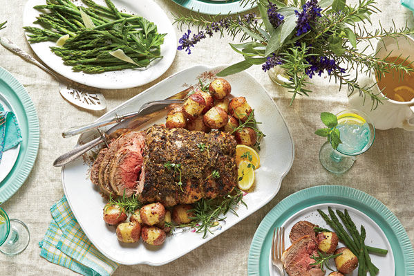 Sunday Supper: Roast Three Lamb Dinners in One