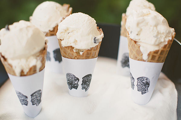 Simple DIY Ice Cream Cone Wrappers