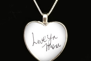 "Say ""I Love You"" in Silver: Handwritten Jewelry for Valentine's Day"