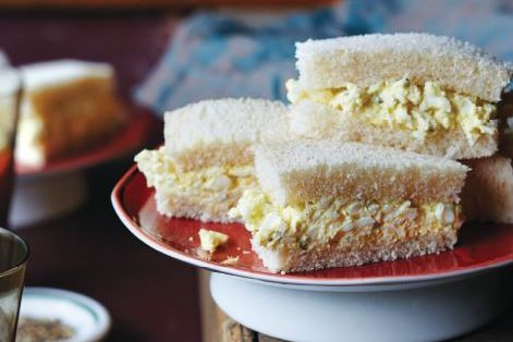The Masters Egg Salad Sandwiches