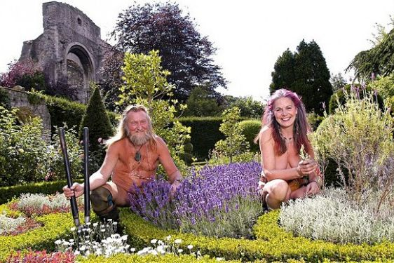 Hooray! Time For World Naked Gardening Day!