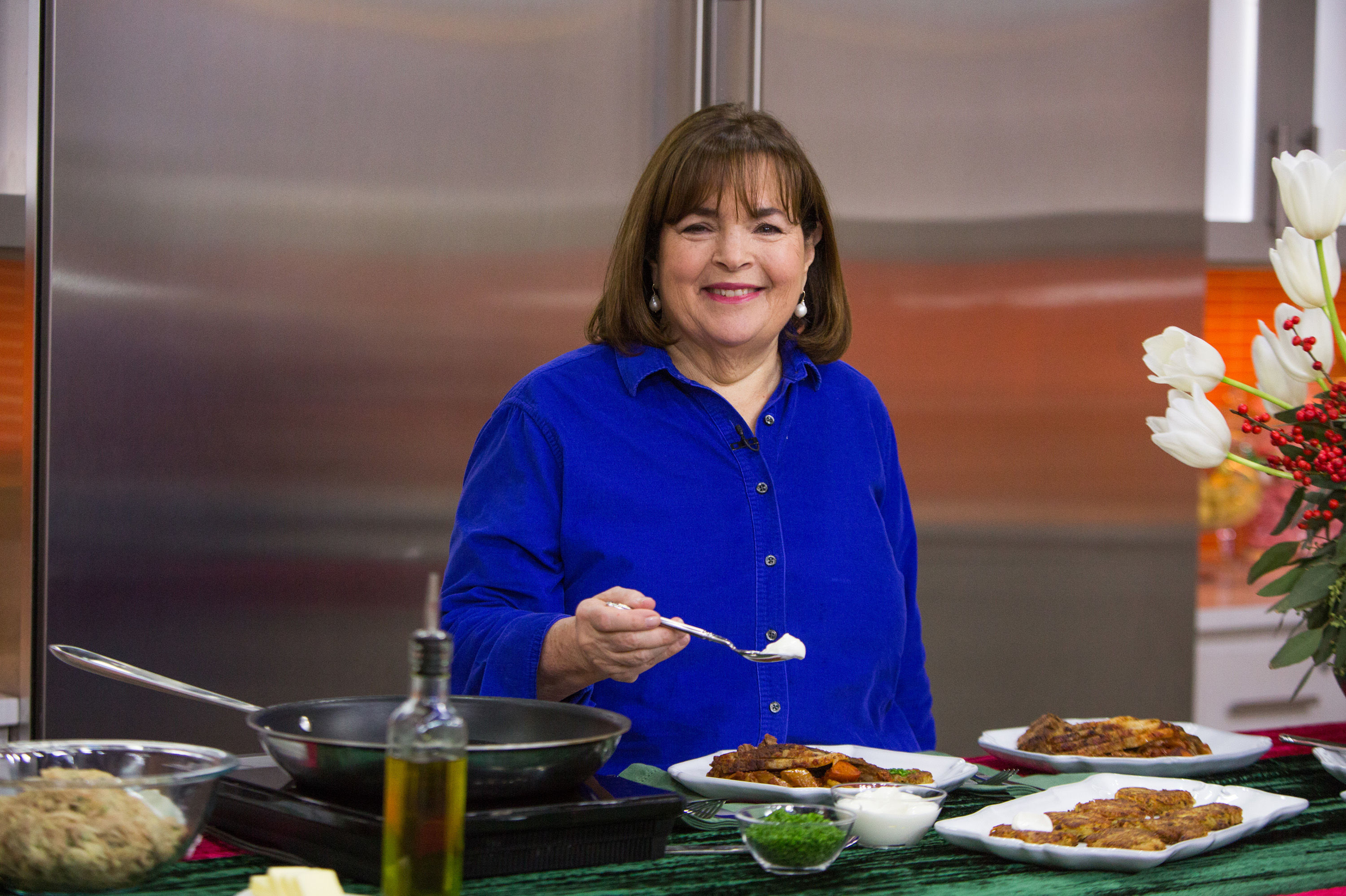Ina Garten Debuted a Stunning $15,500 Custom French Stove And You Have to See It