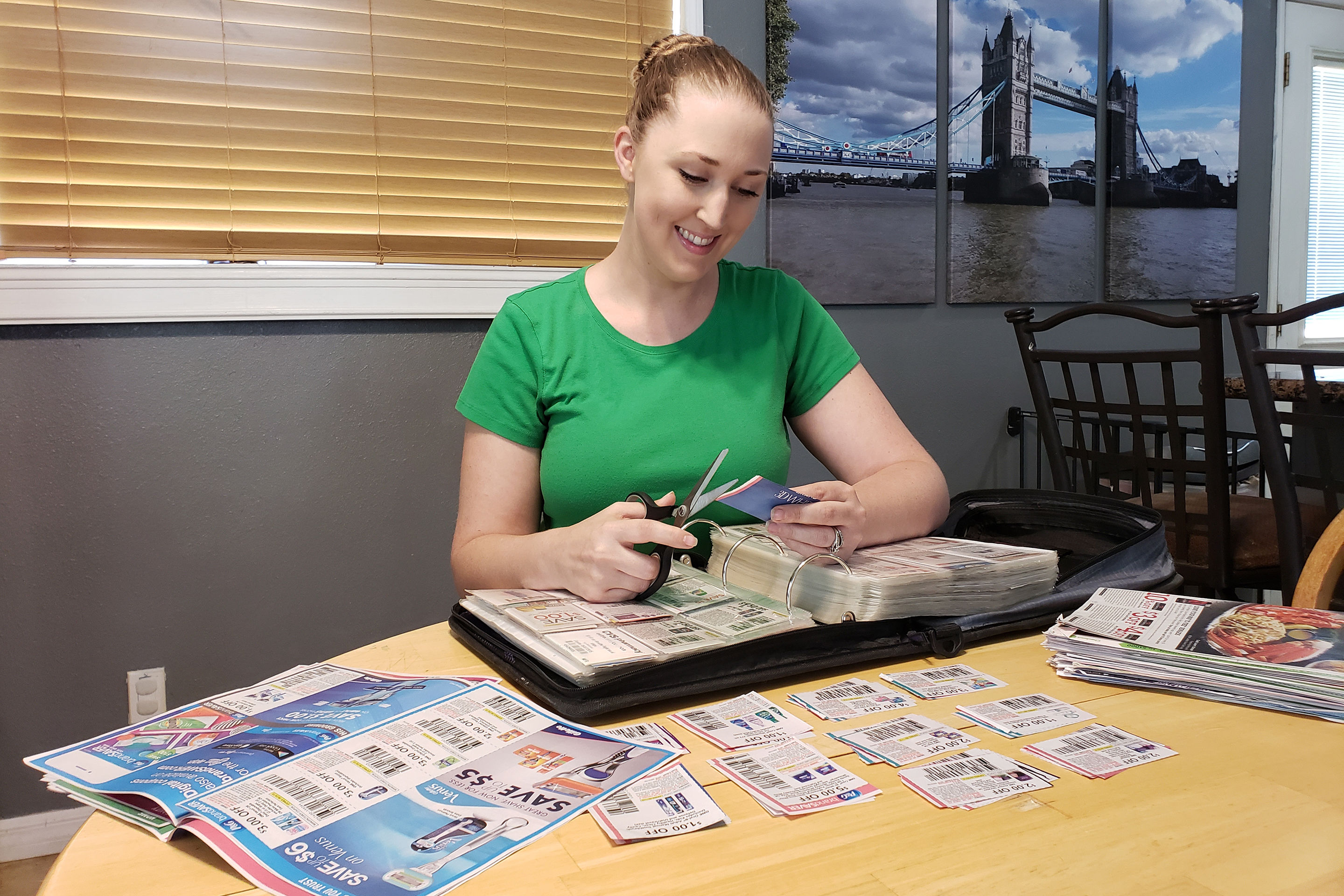 This 31-Year-Old Saves $8,000 a Year Clipping Coupons. Here Are Her Secrets to Success