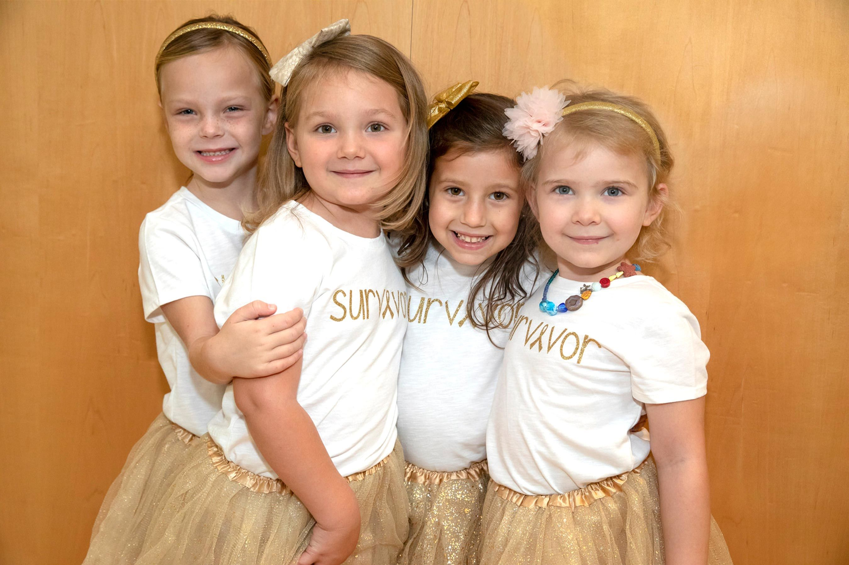 Four Girls Reunite After They Beat Cancer Together at the Same Hospital: 'It's Amazing to See'