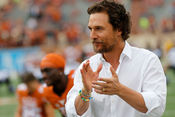 Matthew McConaughey Nailed the Ultimate Power Pose and the Internet Is Living for It