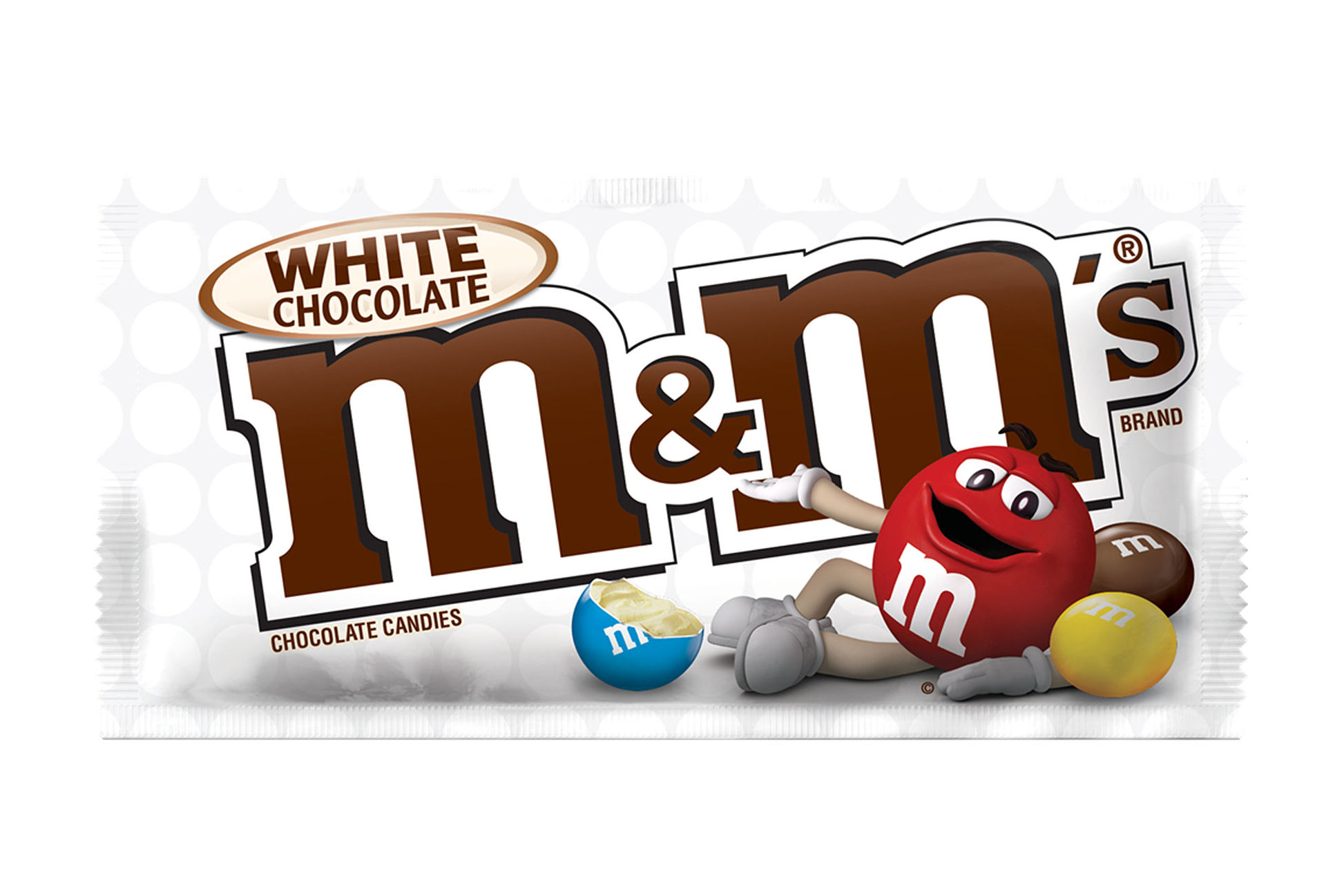 White Chocolate M&M's Are Officially Here to Stay