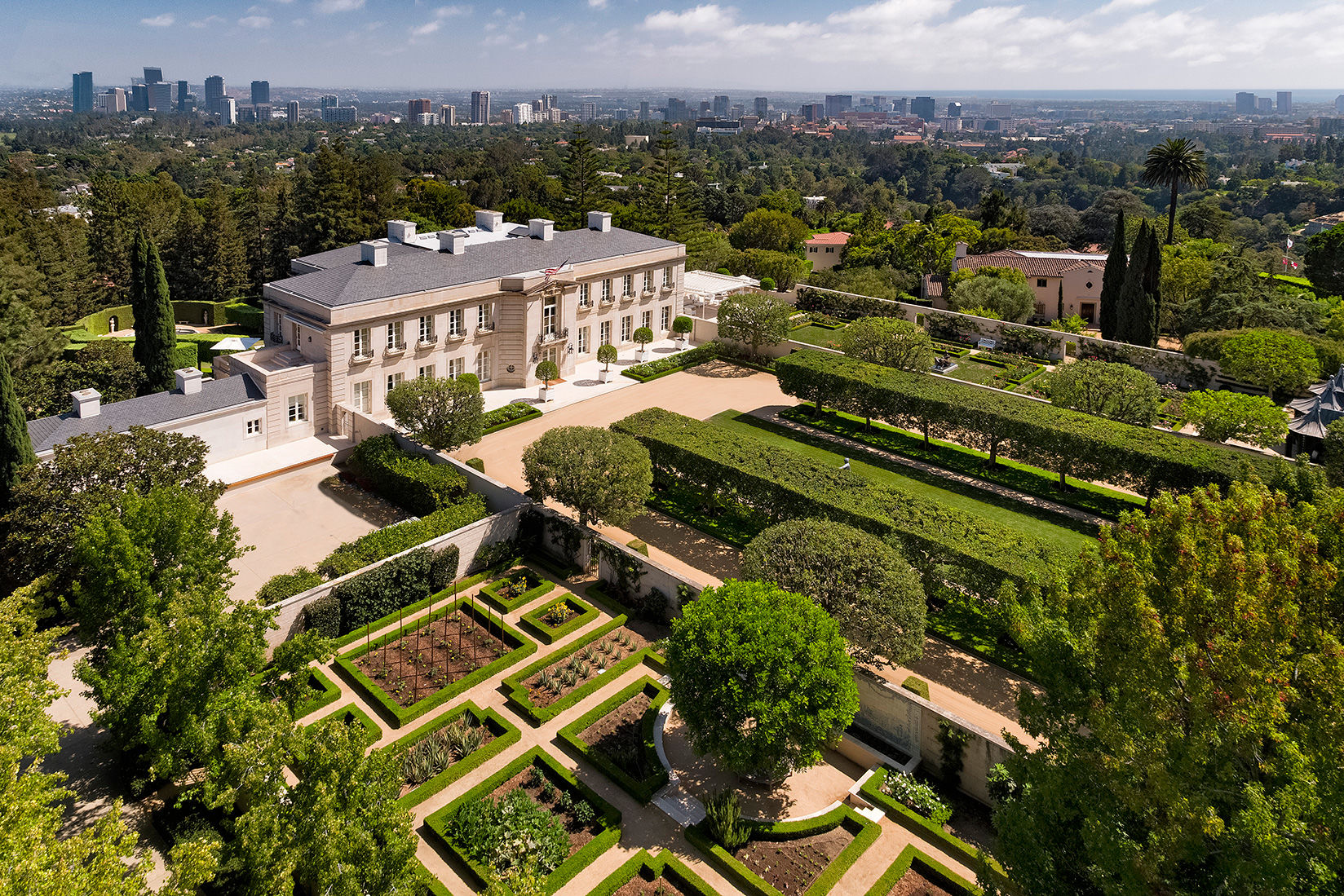 "The Real ""Beverly Hillbillies"" Mansion for Sale in Bel-Air Just Got a $50 Million Price Chop"