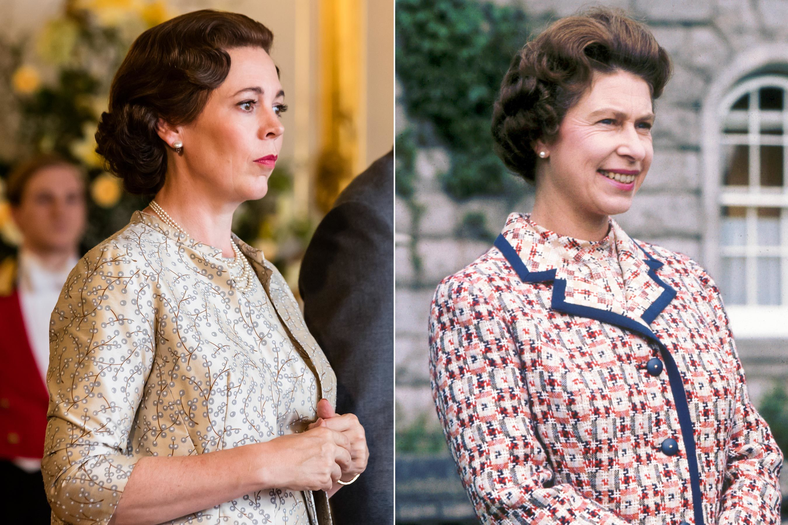 The Crown star Olivia Colman accidentally 'stumbled' into a meeting with the real Queen