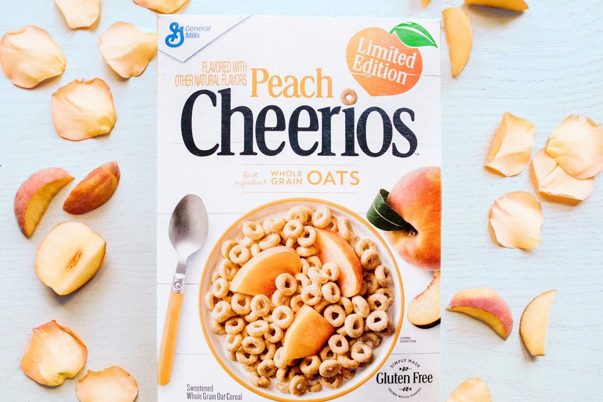 Limited Edition Peach Cheerios Are Coming Soon