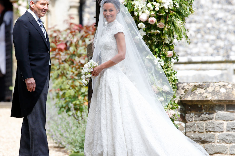 Here's the Dish on Pippa's Wedding Menu (and Her Wedding Cake!)