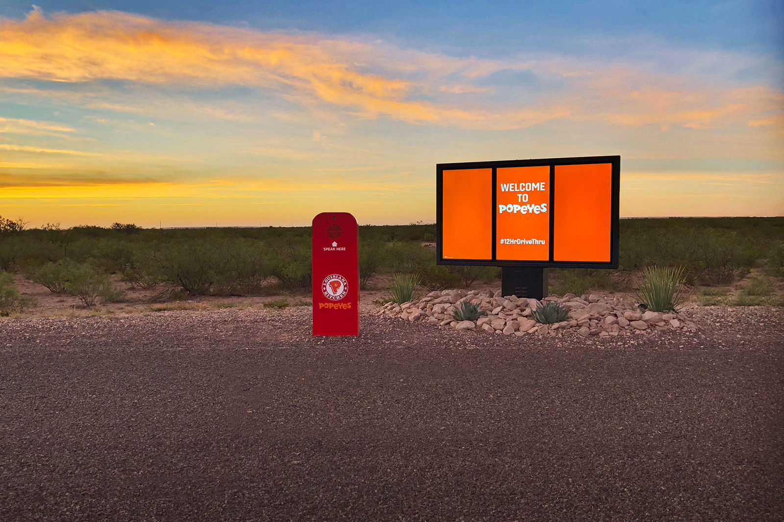 This Popeyes Drive-Thru Requires an 850-Mile Road Trip to Pick Up Your Food