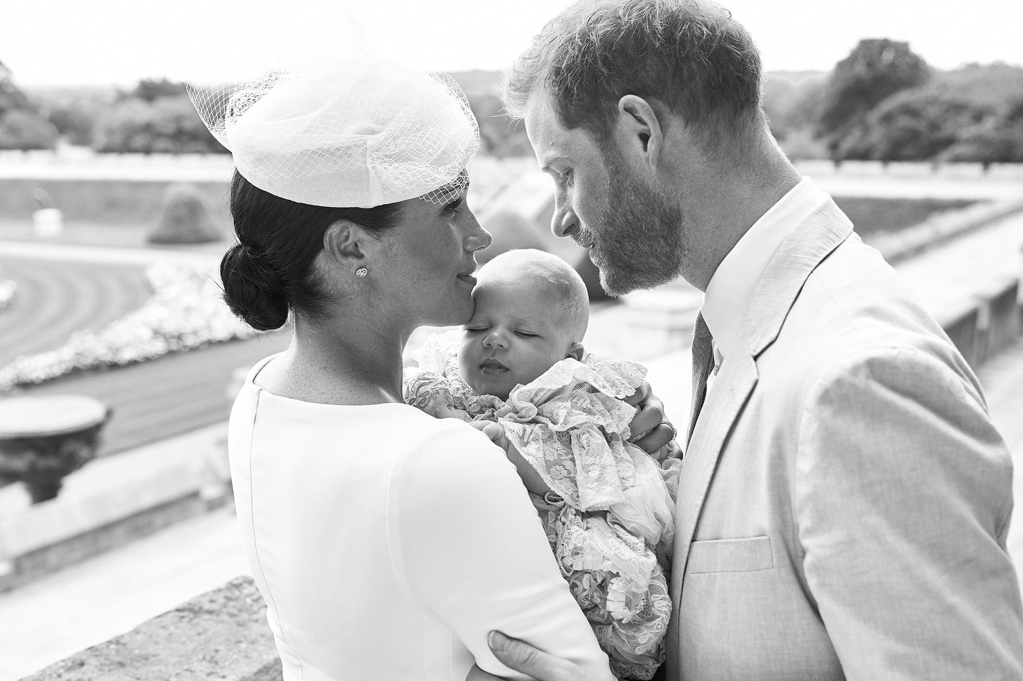 See the Sweet Thank-You Note Meghan Markle and Prince Harry Sent After Archie's Christening