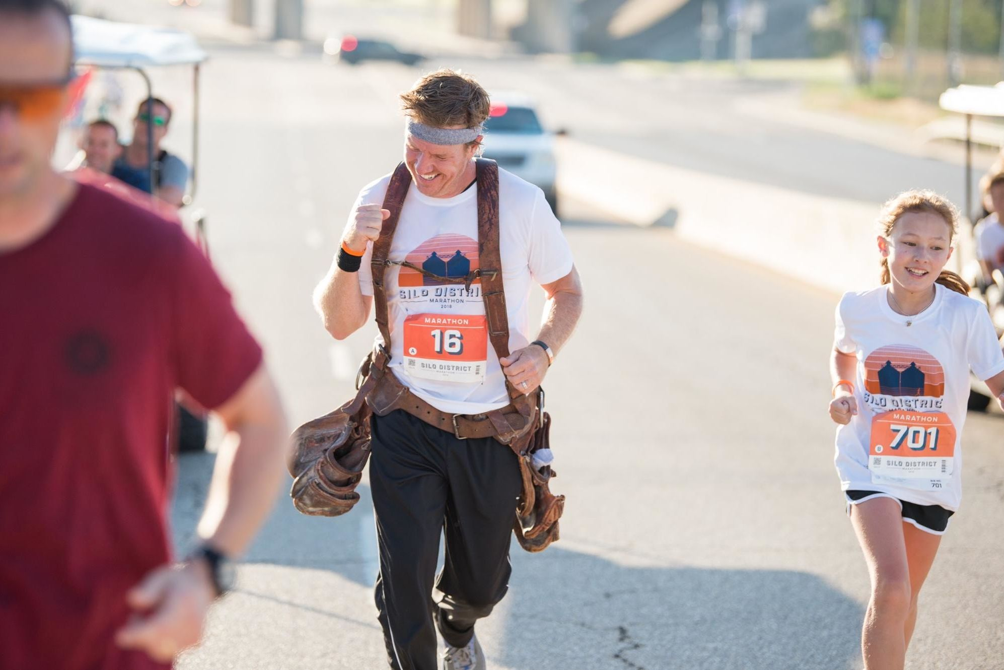 Chip Gaines Reveals the Incredible Reason He Wore His Toolbelt While Running His Marathon