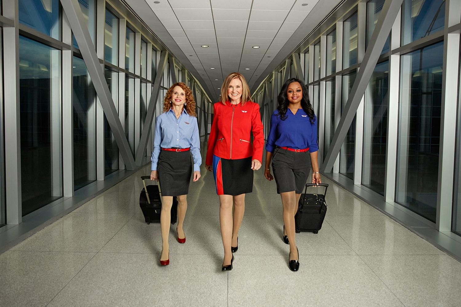 Southwest Just Debuted Its First New Uniforms in 20 Years