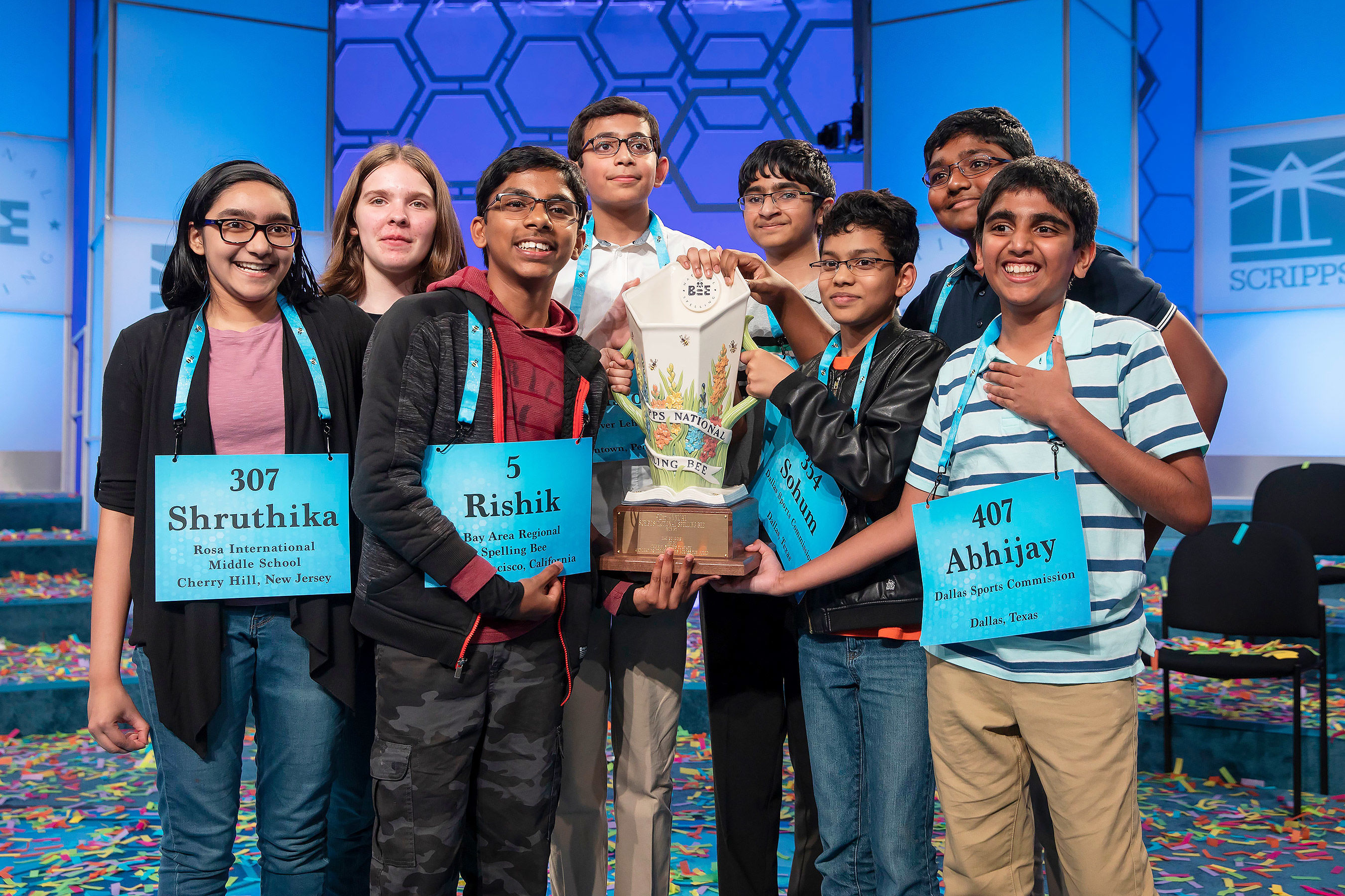 8 Spellers Just Won the 2019 National Spelling Bee in an Unprecedented Tie