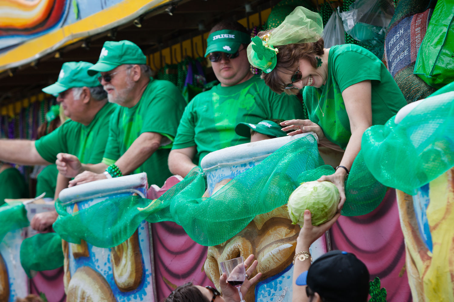 New Orleans Celebrates St. Patrick's Day in an Unusual Way