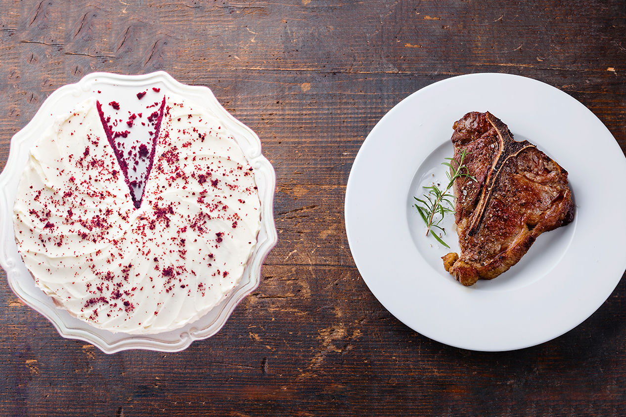 This Father's Day, Bake Dad a Steak Cake