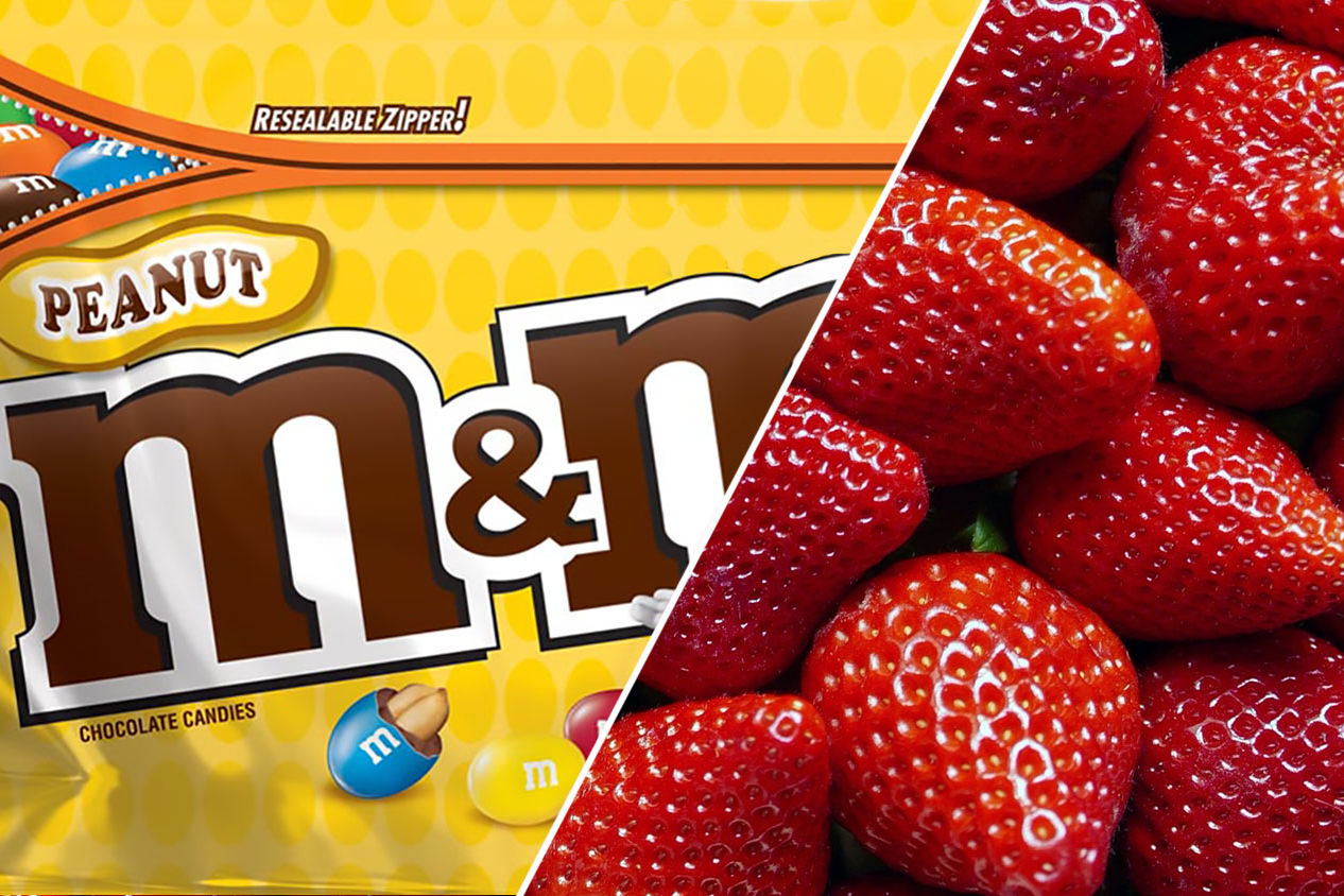 This New M&M's Flavor Was Made for Peanut Butter and Jelly Lovers