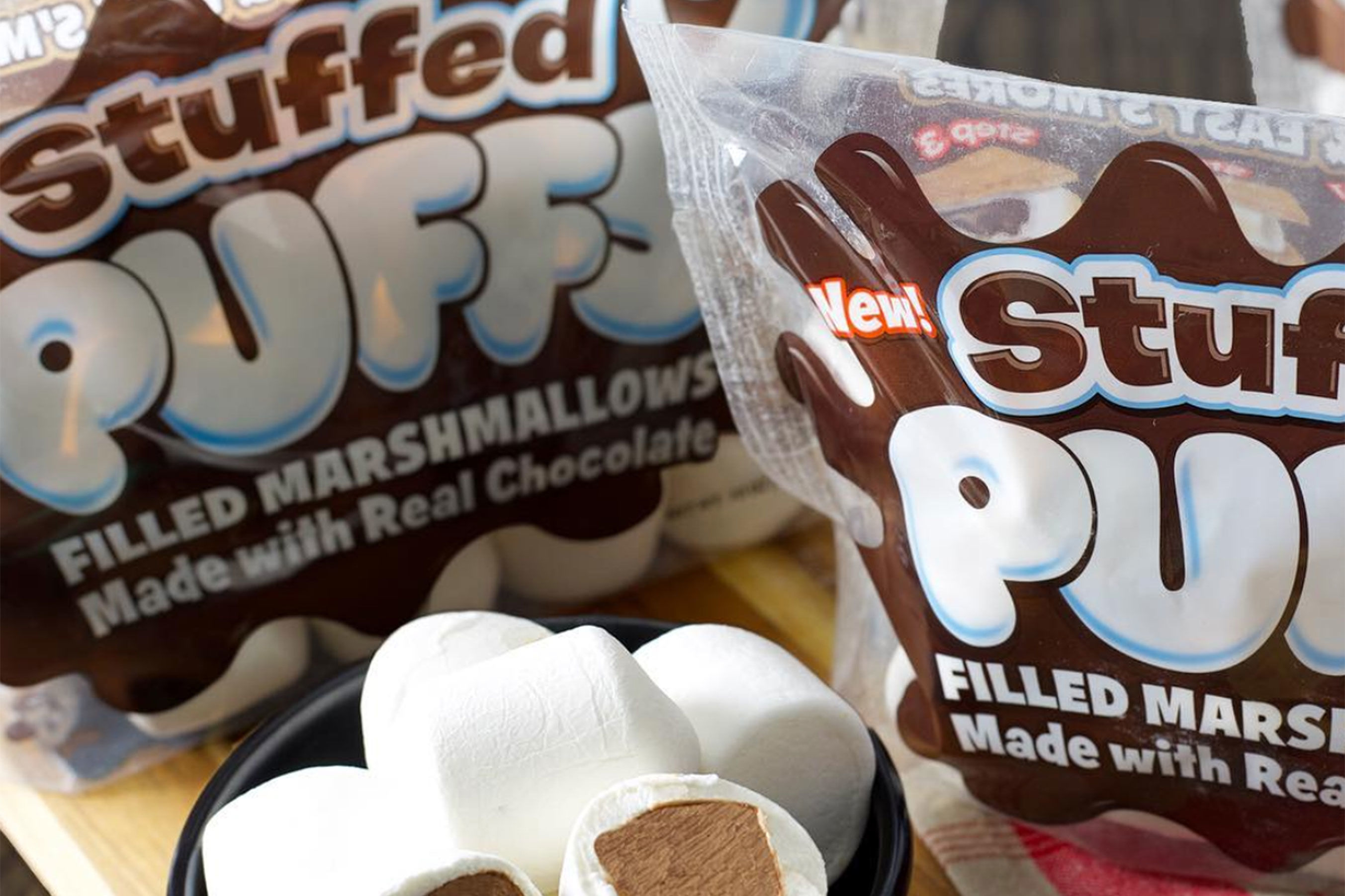 Chocolate-Stuffed Marshmallows Are Almost Here, and S'mores Will Never Be The Same