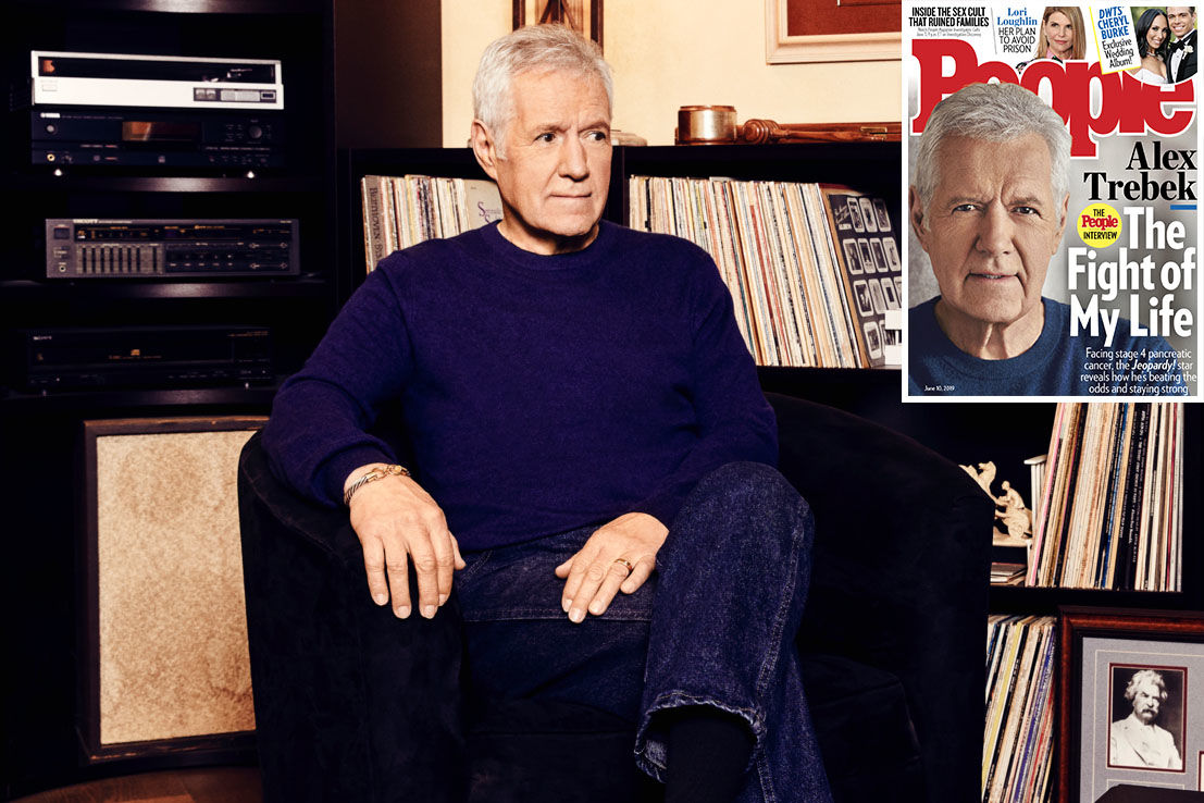 Alex Trebek Reveals Some of His Tumors Have Shrunk by 50 Percent: 'It's Kind of Mind-Boggling'