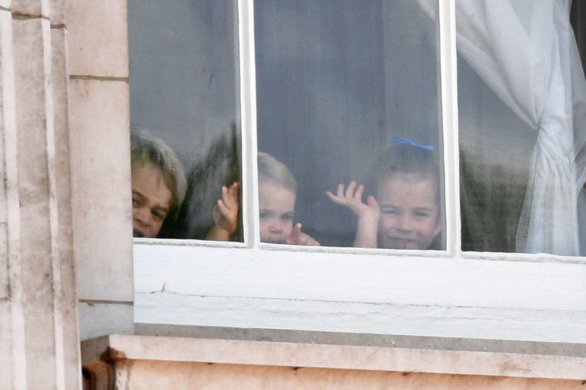 George and Charlotte Show Prince Louis the Best Part of Trooping — Watching from Palace Window!