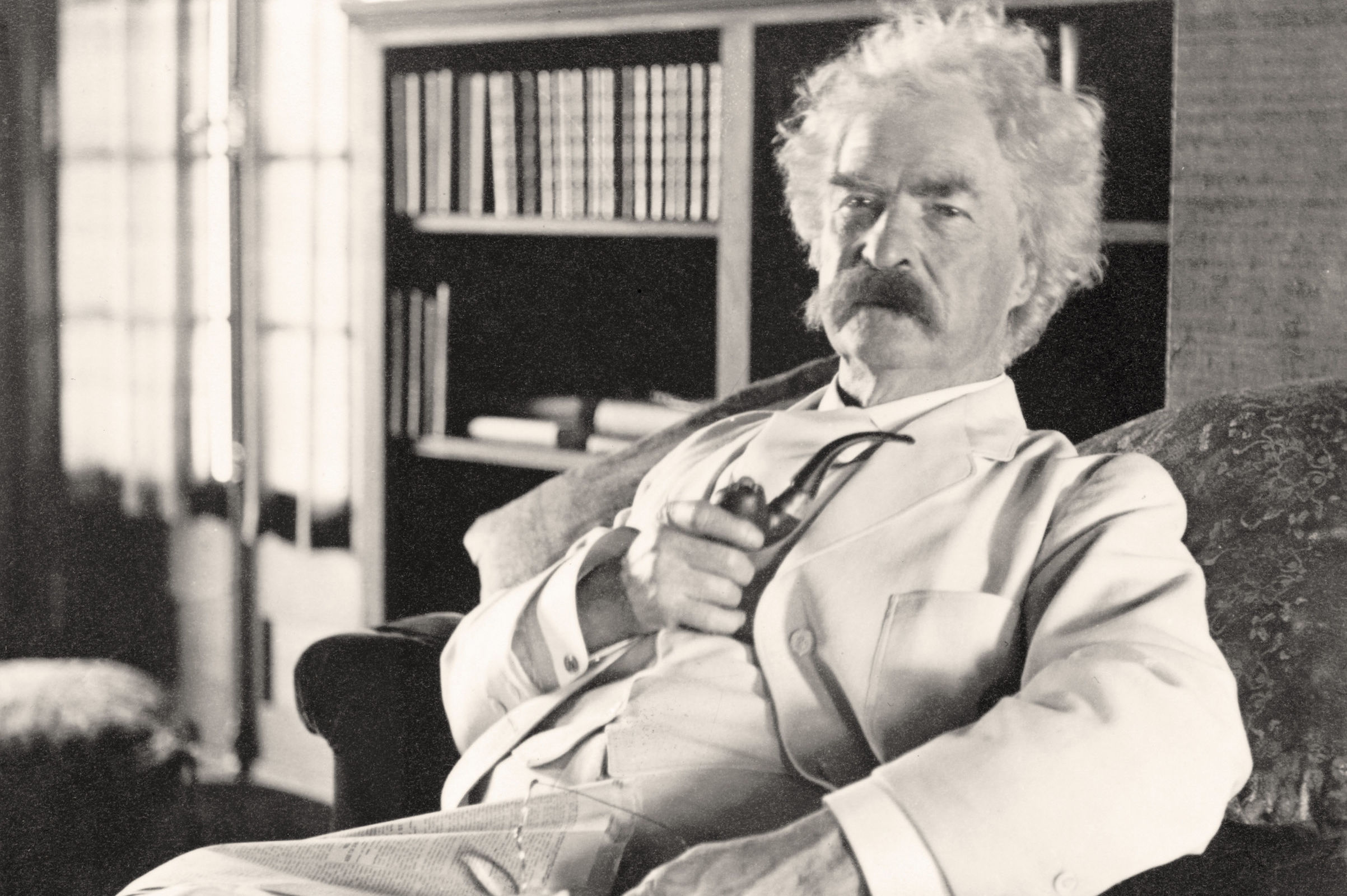 Mark Twain Claimed He Got His Pen Name From a Riverboat Captain. He May Have Actually Gotten It in a Saloon