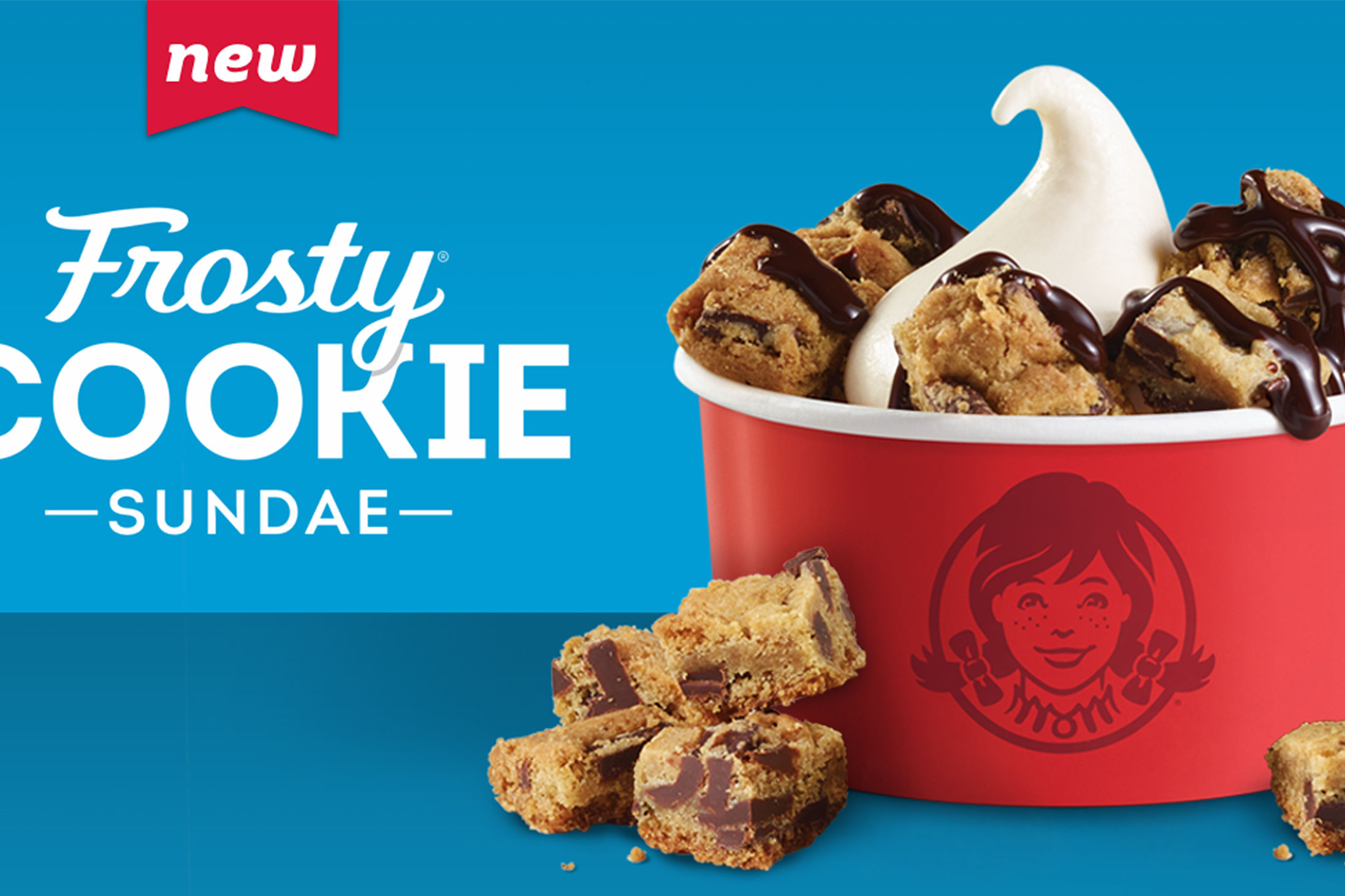 Wendy's Is Now Selling Their Signature Frosty in Cookie Sundae Form