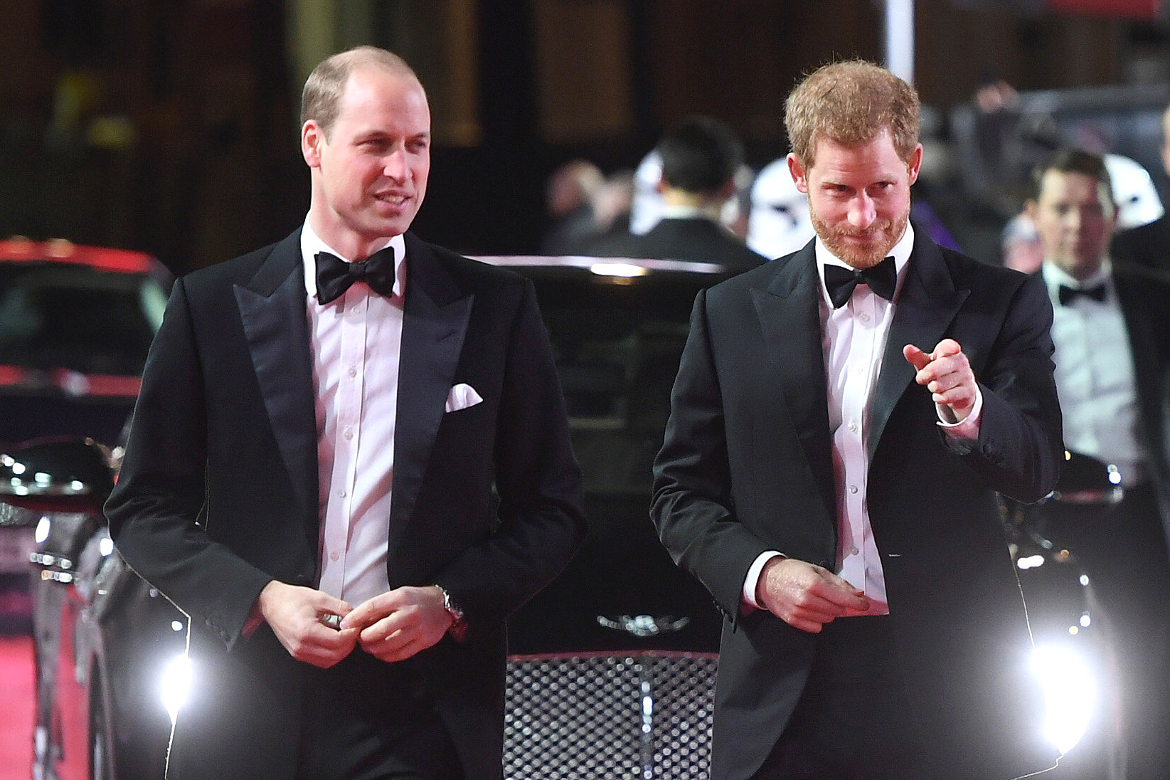 Prince William: Harry Hasn't Asked Me to Be His Best Man (Yet!)