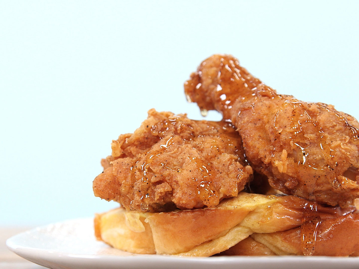 Fried Chicken French Toast Still Image
