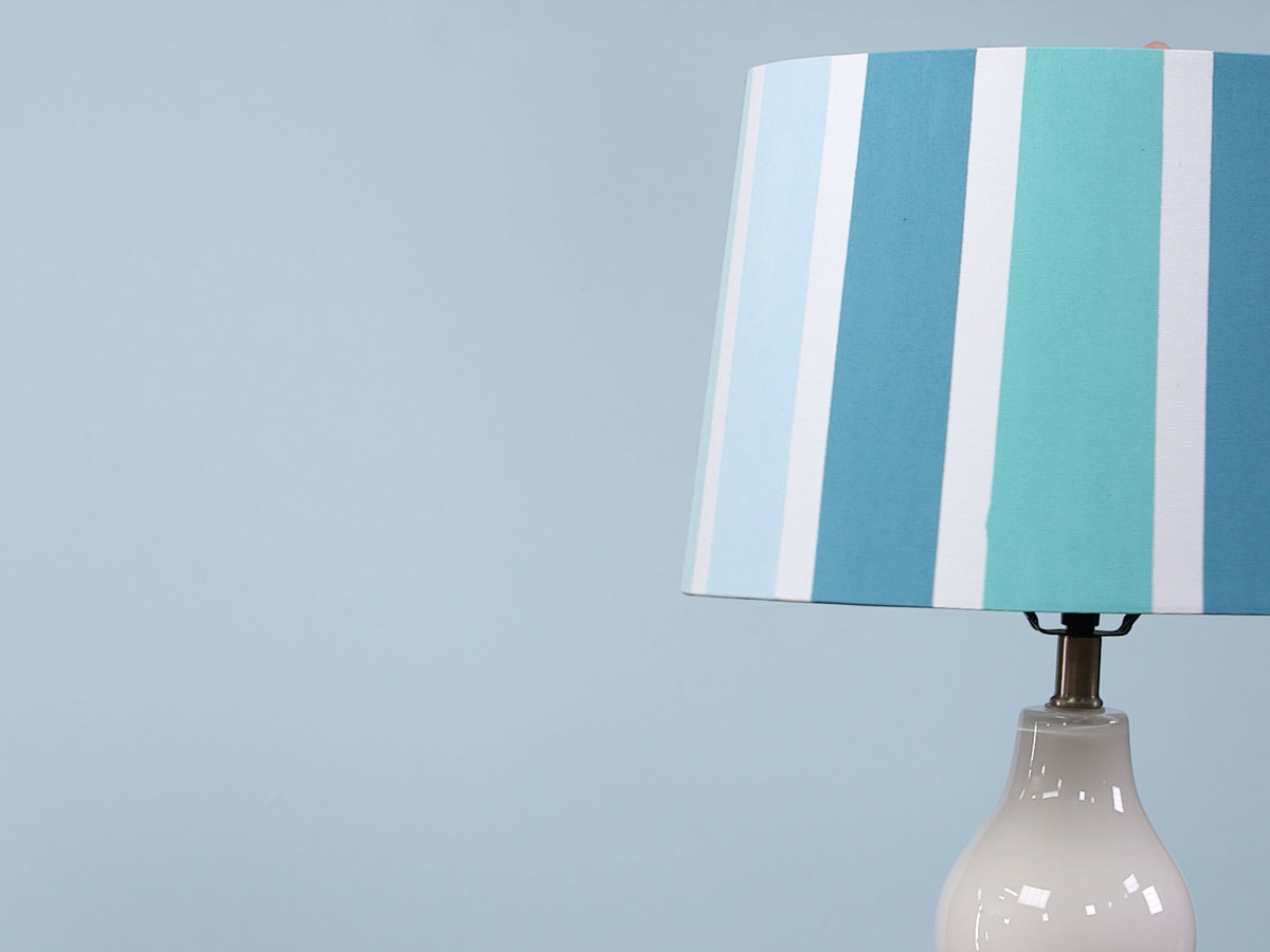 Easy Painted Lampshade Still Image