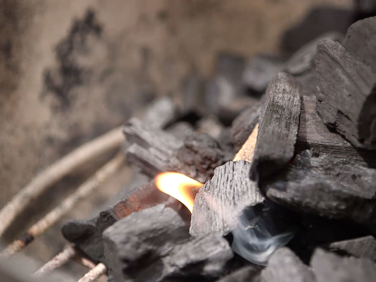 Fire Flavor Charcoal Grill