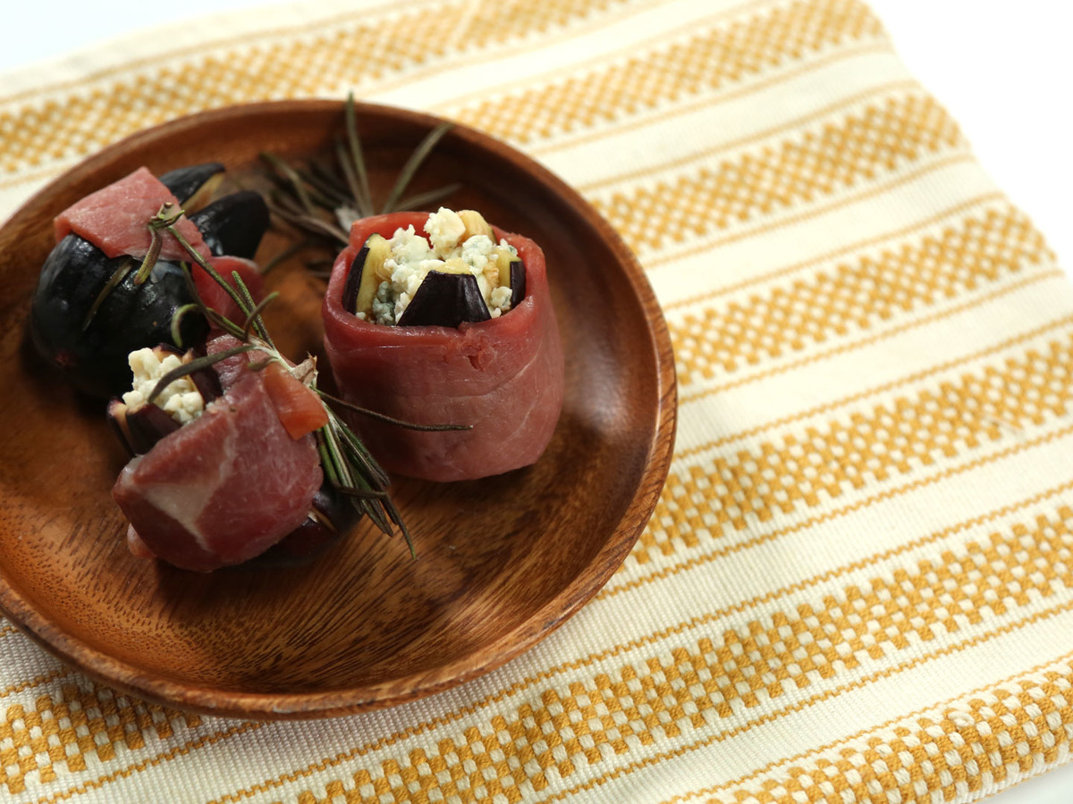 Virginia Willis Ham-Wrapped Figs