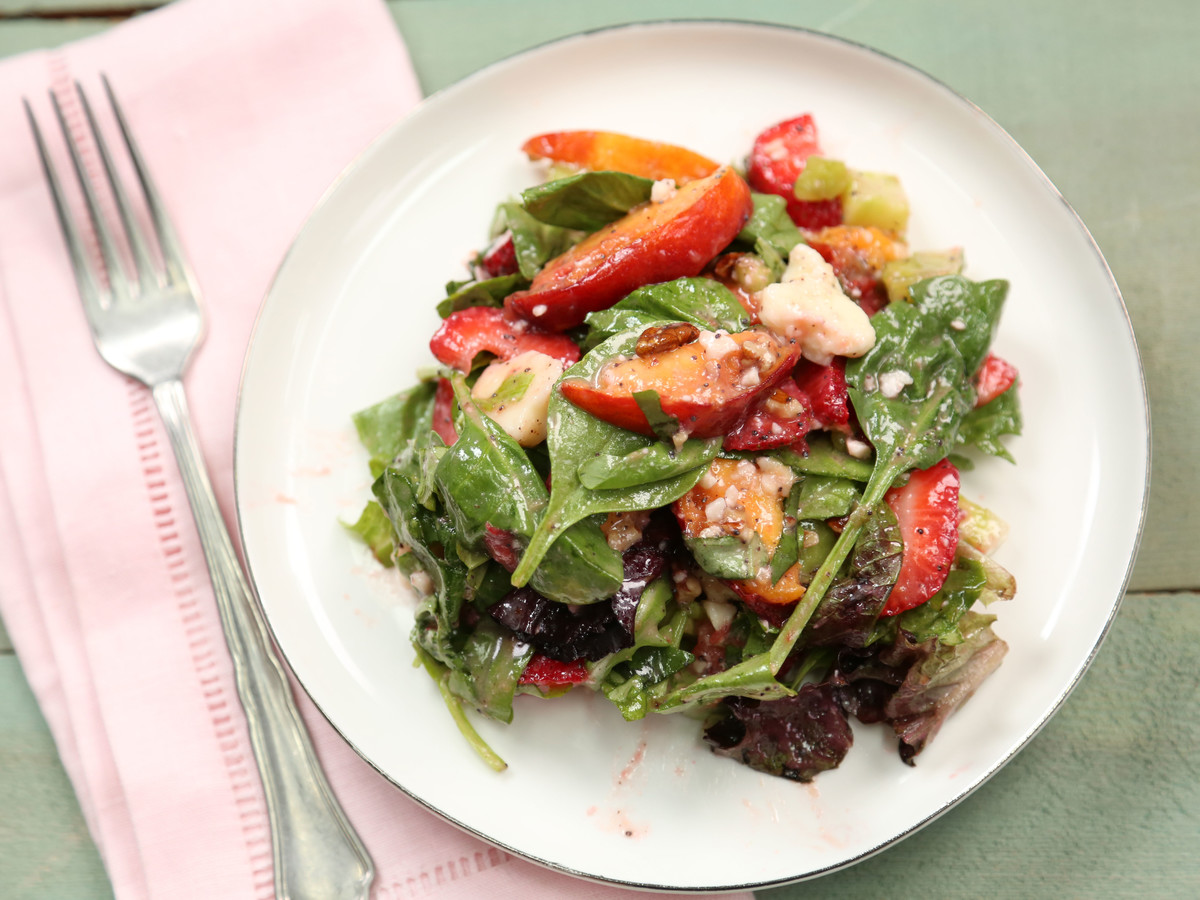 Strawberry Fields Salad Still