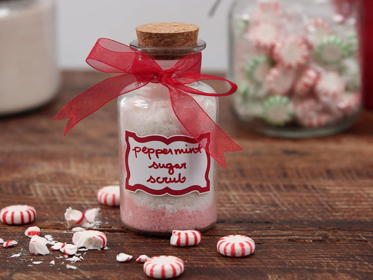 Peppermint Sugar Scrub Still