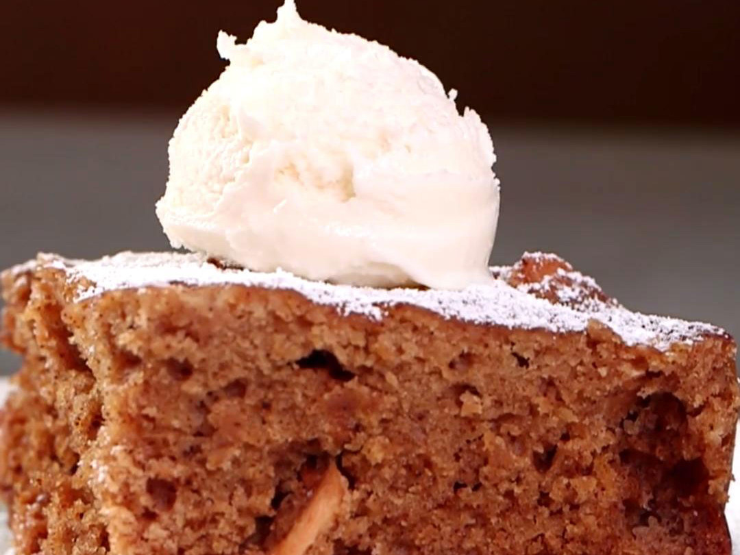 MyRecipes Slow Cooker Apple Cake