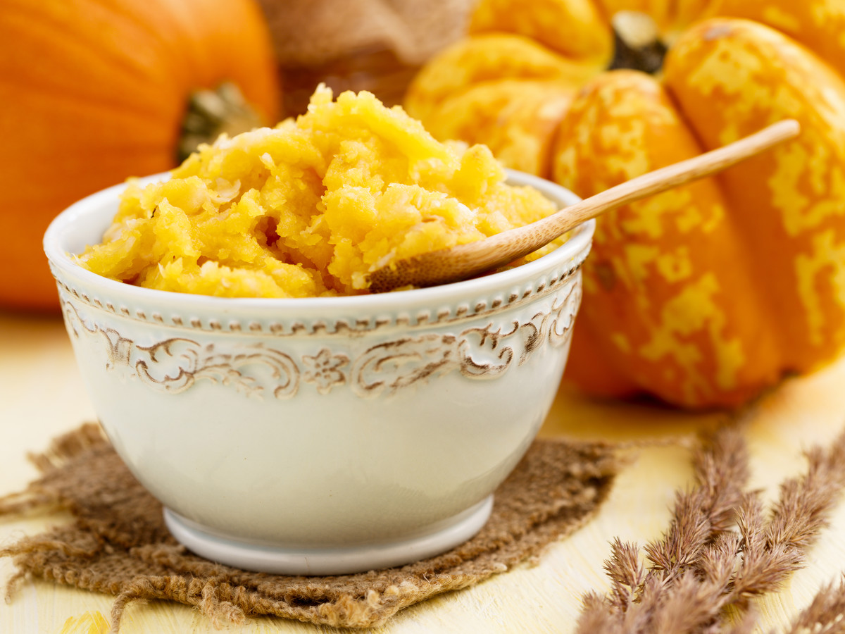 Homemade Pumpkin Puree Image
