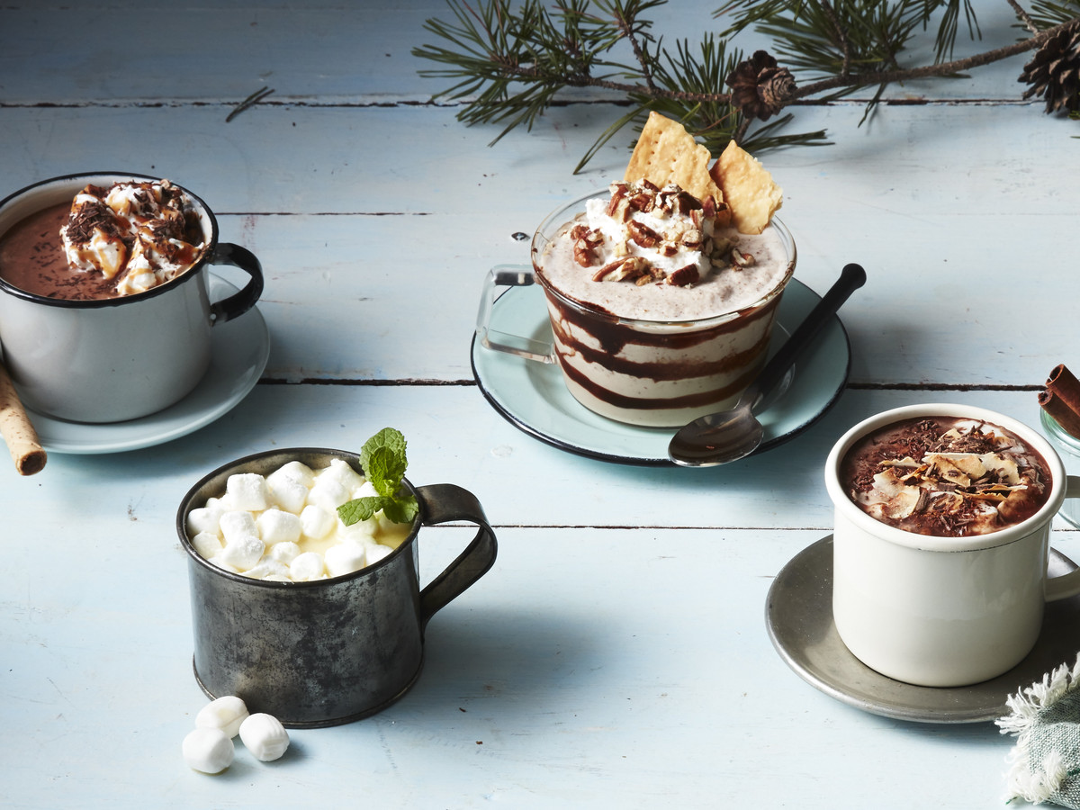Toasted Coconut and Cinnamon Hot Chocolate