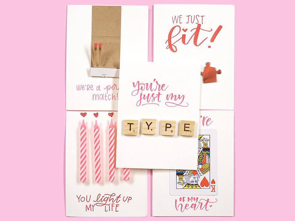 Real Simple Homemade Valentine's Day Cards