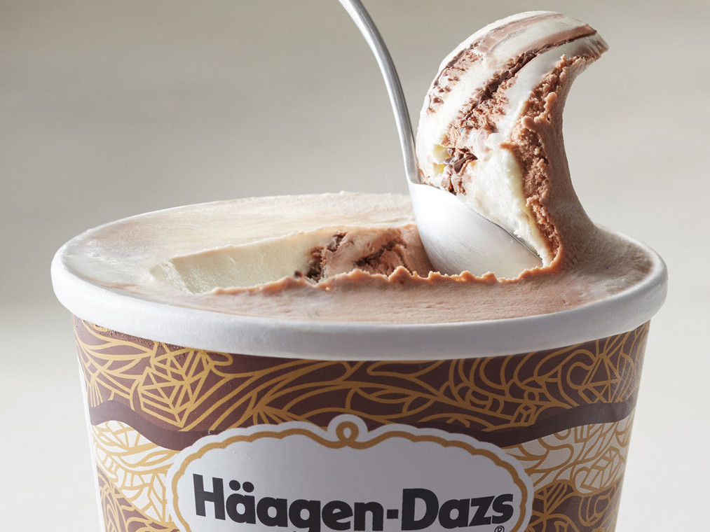 Haagen Dazs Trio Layered Pints