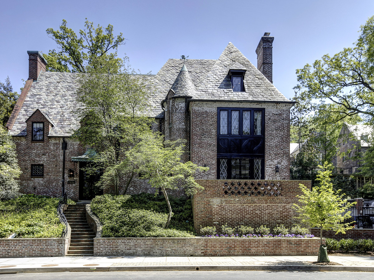 The Obamas' new home.