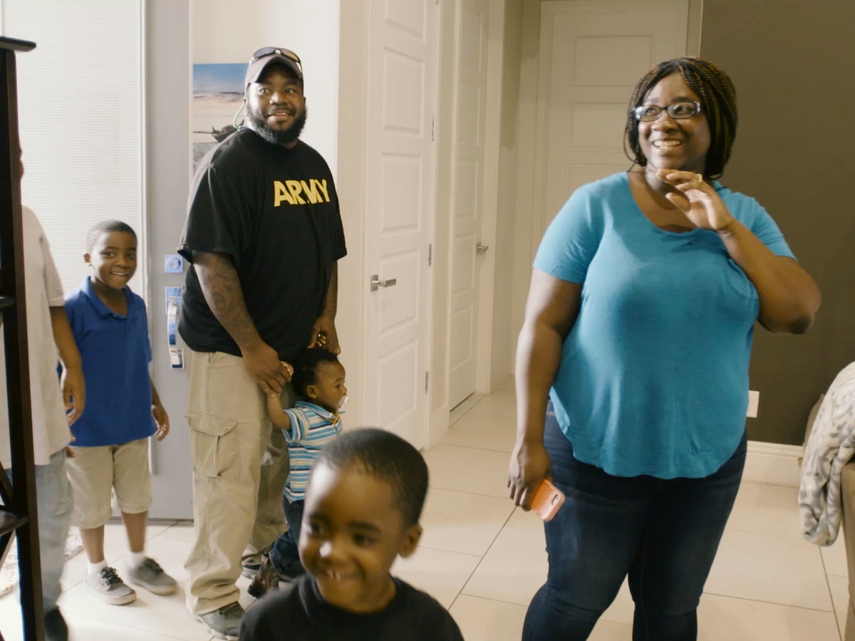 Jackie Irving Family Building Hope