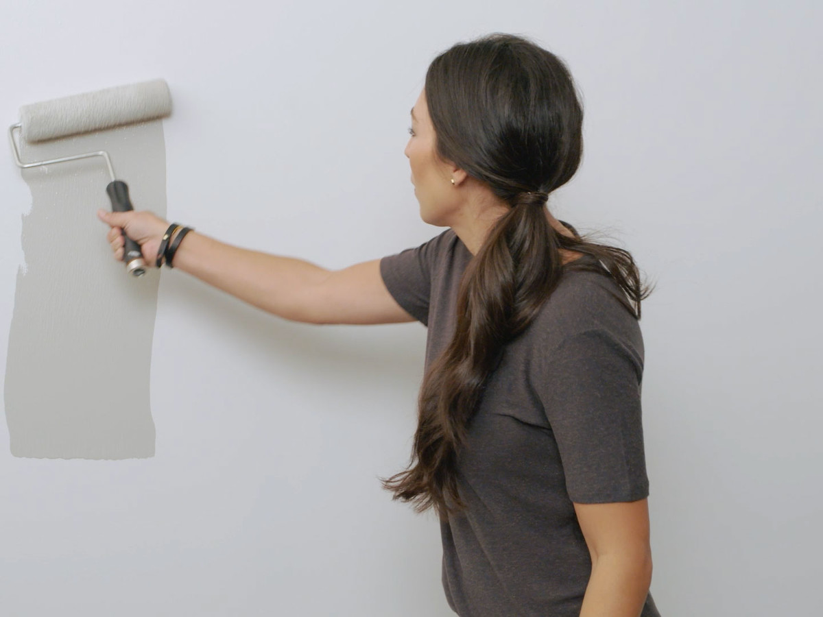 Joanna Gaines How To Apply Paint