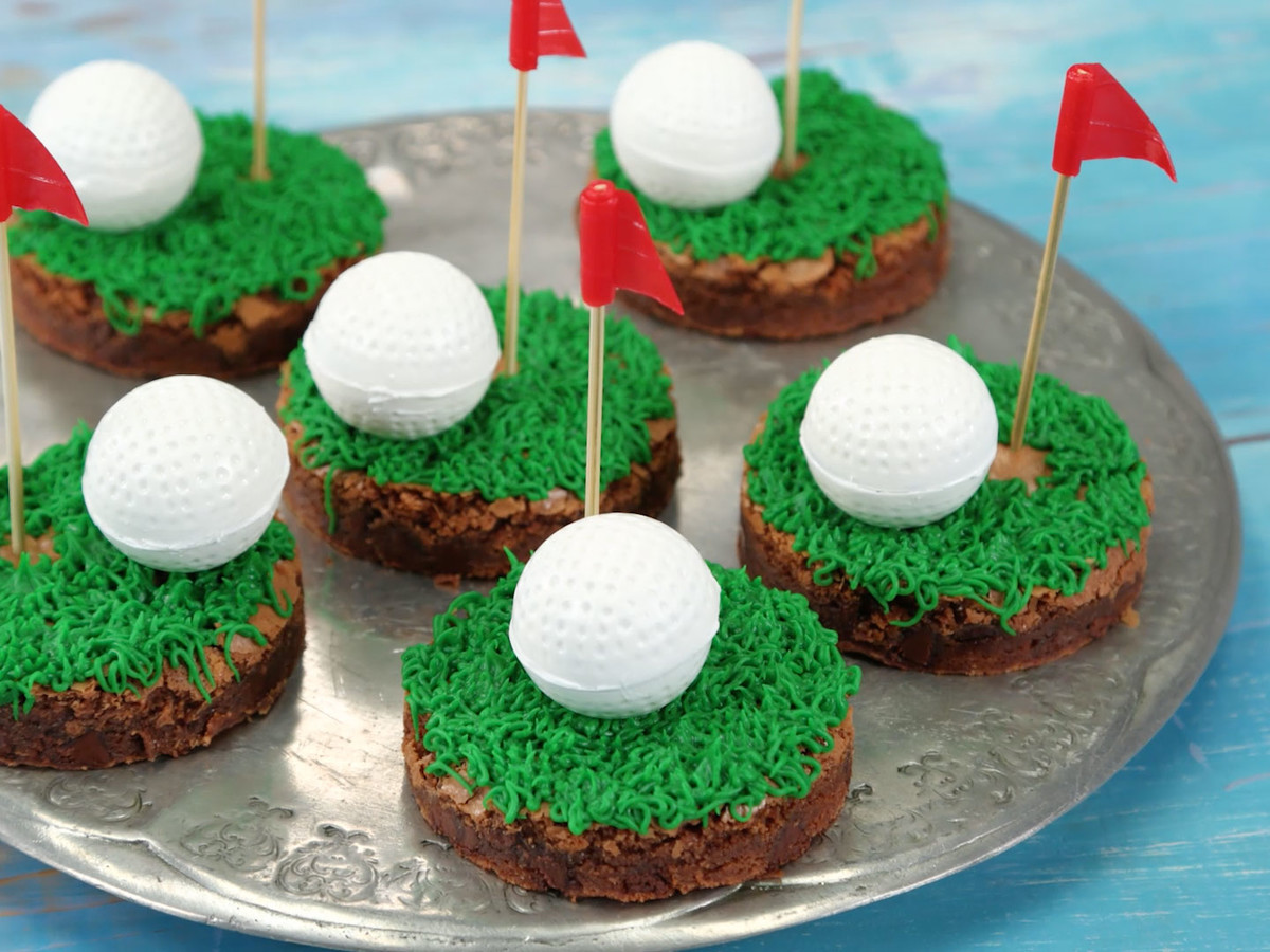 Golf Ball Brownies