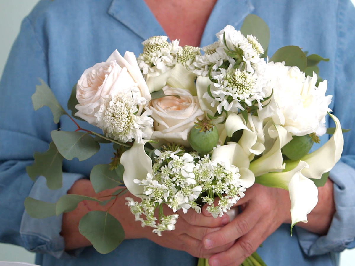 Buffy Summer Wedding Bouquet