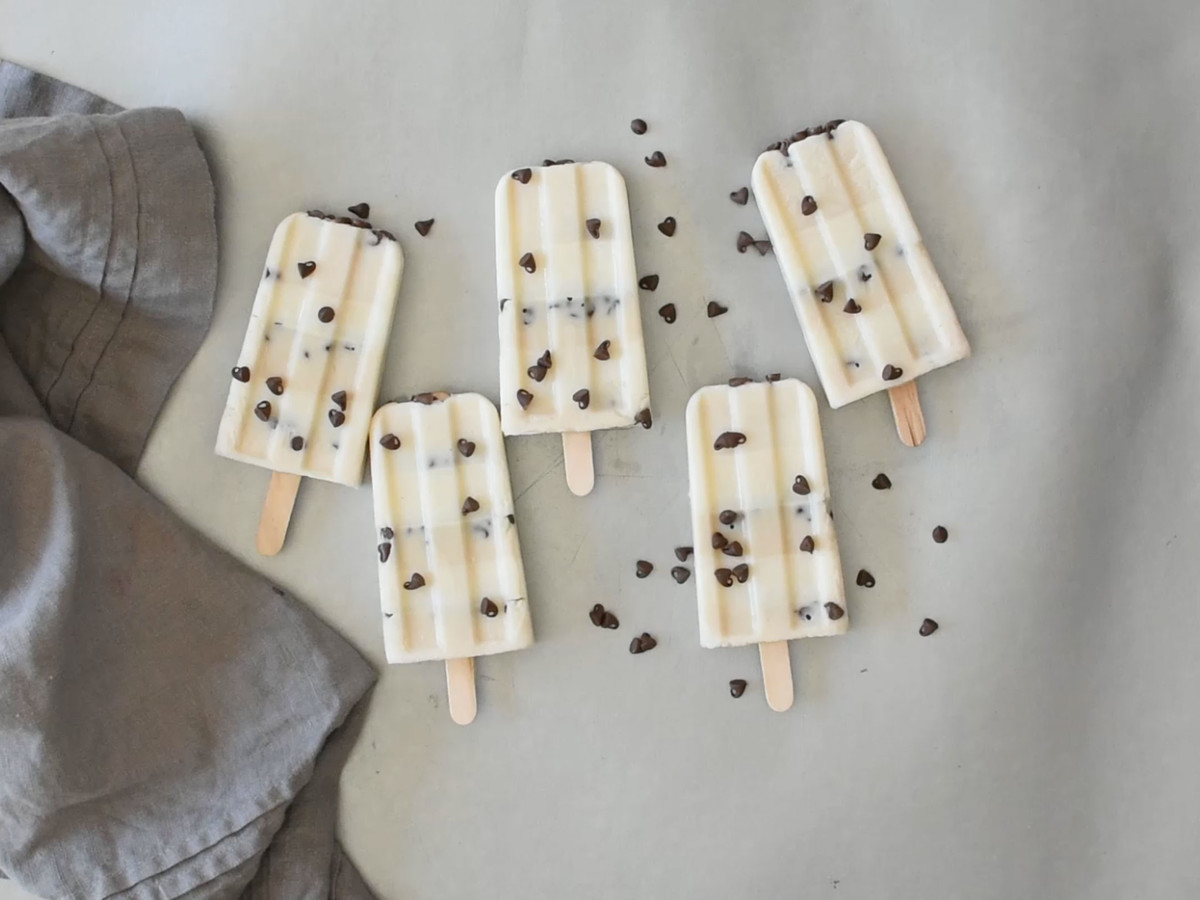 eHow Cookie Dough Ice Pops
